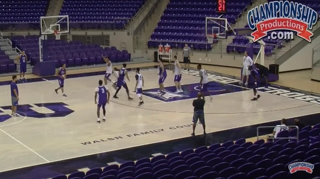 Tcu Basketball Zone Defense And Offense Practice Championship