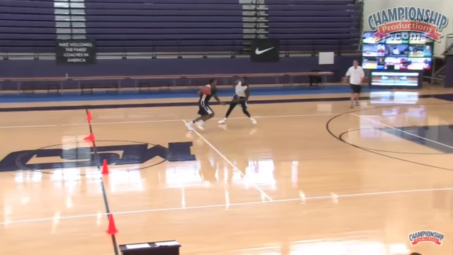 Will Wade's Half-Court Sprint 1v1 Drill for Basketball