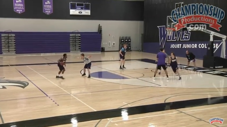 Drill for Getting Open in the Blocker-Mover Offense! | Championship